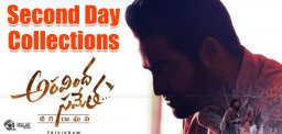 aravindha-sametha-second-day-collections