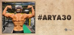 Hero Arya Becomes Beast For #Arya30