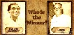 B.N.Reddy Vs Krishna Sastry - Who is the Winner?