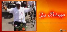 balakrishna-promotional-bicycle-rally-in-hindupur
