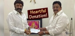 Corona Charity: Balayya's Contribution 1.25 Cr
