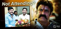 Shocking: Balakrishna to skip Film industry meeting with YS Jagan
