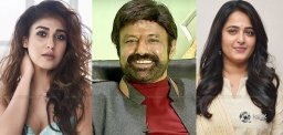 Balayya Prefers Nayan and Anushka!