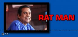 brahmanandam-to-act-as-a-rat-in-eluka-majaka