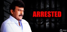 chiranjeevi-arrested-at-rajahmundry-airport