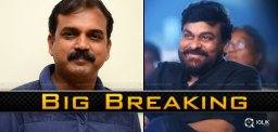 Mega Breaking: Chiru Is Getting Ready For..