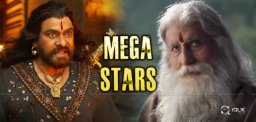 Big-B One And Only Mega Star: Chiranjeevi
