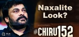 All Set For First Look Of Chiranjeevi 152?