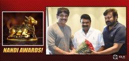 Nandi-Awards-Talasani-Meets-Chiru-And-Nagarjuna