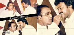 Chiranjeevi Pays An Emotional Tribute To Sr NTR