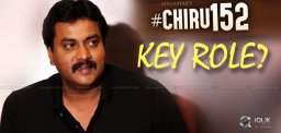 Sunil Gets Key Role In #Chiru152?