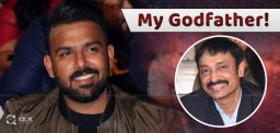 He is my Godfather: Director Tarun Bhascker