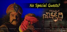 no-specialguests-for-gautamiputrasatakarni