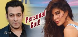 Salman Khan, 'God' For This Beauty