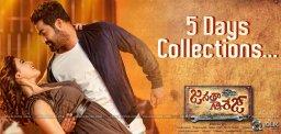 jrntr-janatha-garage-five-days-collections-details
