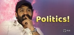Young Tiger NTR In Political Plans!