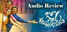 nara-rohit-jyo-achyutananda-audio-review