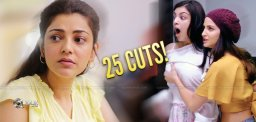 More than 25 Cuts For Kajal's Flick!