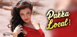 Kajal Agarwal Suggests 'Pakka Local'!