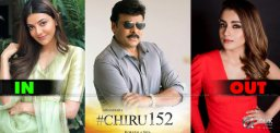 Chiru152-Kajal-Replace-Trisha-In-Acharya