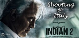 Indian 2 Team To Move To Italy