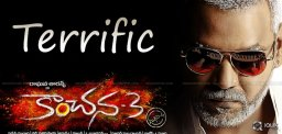 Kanchana-3 Opens Strong At TN Box-Office!
