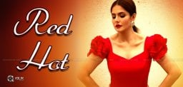 zarine-khan-s-hot-pose-in-red-dress