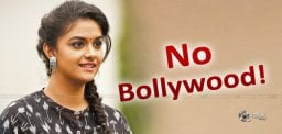 No Bollywood Film For Keerthy Suresh Now