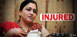 actress-khushbu-injured-and-hospitalized