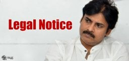 Legal Notice Against Pawan Kalyan