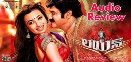 balakrishna-lion-audio-review