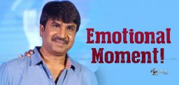 Comedian Srinivas Reddy Goes Emotional