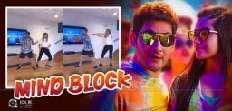 David Warner's Version Of Mahesh Babu's Mind Block