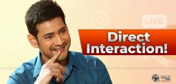 Mahesh Babu Interacts With Fans On Instagram Live