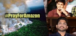 Film Celebs Tweet In Support Of #PrayForAmazon