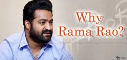 jr-ntr-rajamouli-why-changed-as-rama-rao-