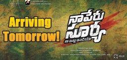 naperu-surya-first-look-poster