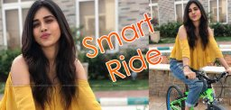 nabha-natesh-s-smart-cycle-ride
