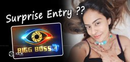 Sri Reddy's Surprise Entry Into Bigg House?