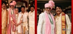 Historic Moment: Amitabh with Nag, Shivraj and Prabhu!