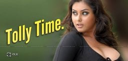 Namitha's Big Plans For Tollywood?