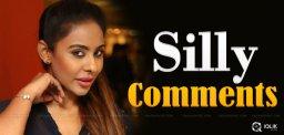 Sri Reddy's Silly 'Cry' On Nani