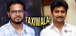 Nani To Work With Taxiwala Director?