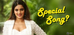 iSmart Nidhi's Special Song In That Film?