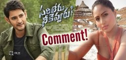 Pawan-Heroine-Stunning-Comment-On-Sarileru