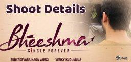 nithin-bheesma-first-schedule-finish