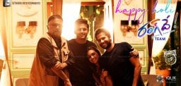 Nithiin-Keerthi-Suresh-Wish-Happy-Holi-RangDe-Sets