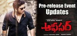 officer-movie-pre-release-event-updates