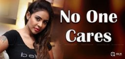 Sri Reddy Fires, But Who Cares?