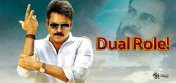 Pawan Kalyan Dual Role, Career First Time!